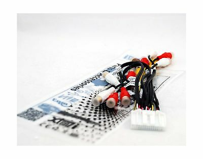 Audio Video Harness RCA Cord Assembly for Pioneer Avic-X920 Avic-Z120BT (CDP1...
