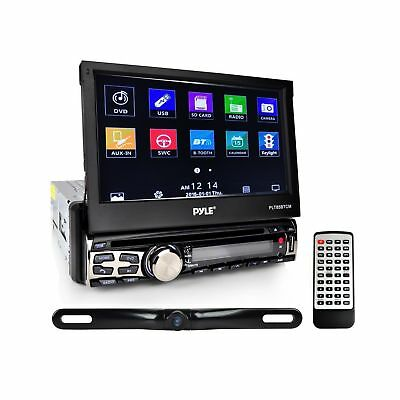 Pyle Car Stereo Receiver System & Backup Camera Kit [Touch-Screen Headunit St...