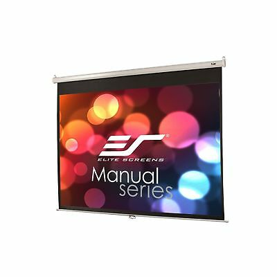 Elite Screens Manual 80-inch 4:3 Pull Down Projection Manual Projector Screen...