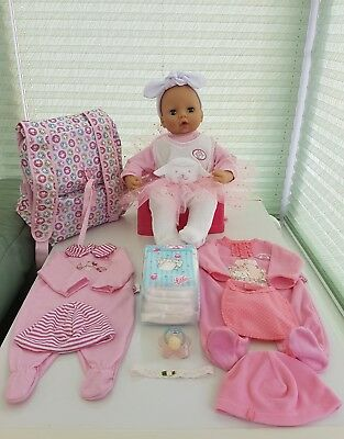 Zapf Creation Baby Annabell Interactive Doll Version 5