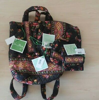 Vera Bradley 4 pc Lot of Chocolat
