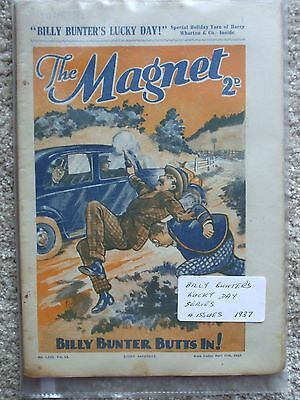 The Magnet (Billy Bunter) - Billy Bunter's Lucky Day Series  (4 Issues)
