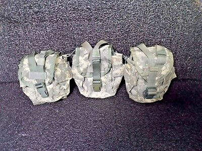 (3 PACK) Military Surplus MOLLE II Canteen/General Purpose Pouch Nylon