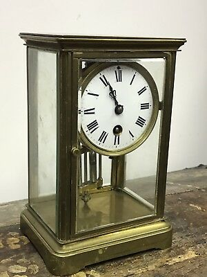 Victorian French Four Glass Clock. Open To Offers?