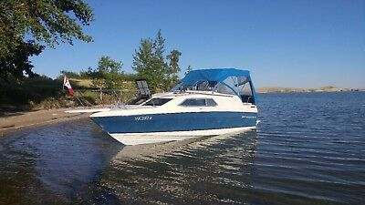 bayliner 24 ft Monterey great family fun/fishing boat with aft cabin !