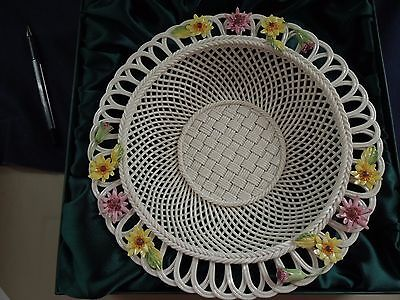 Belleek 2006 Gerbera Basket NIB