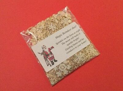 MAGIC REINDEER DUST FOOD magical Christmas Eve Activity Tradition Santa Kids Fun