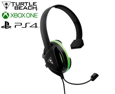 Turtle Beach Ear Force Recon Chat Gaming Headset For Xbox One - Black/Green