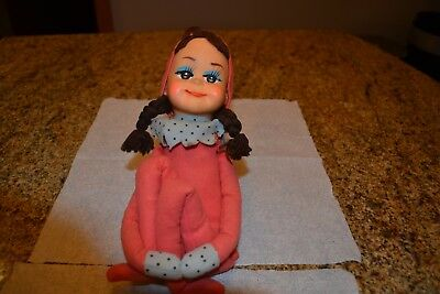 Vintage Kamar Pixie Knee Hugger Elf Living Dolls / Tina?