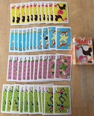 Vintage Hearts Card Game Toys Whitman Publishing Company