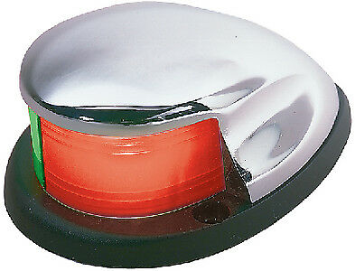 Portable Battery Operated Navigation Bow Light W//C Grey Seachoice 06131