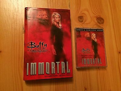 Buffy The Vampire Slayer Immortal Hardback Book and Casette Tape