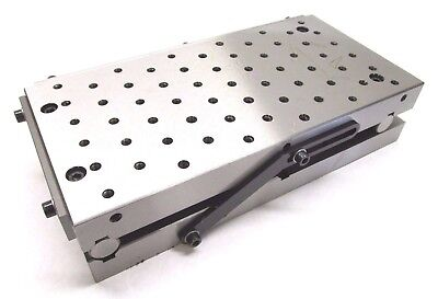 "NEW! PRECISION 12"" x 6"" SINE FIXTURE PLATE w/ THREADED HOLES"
