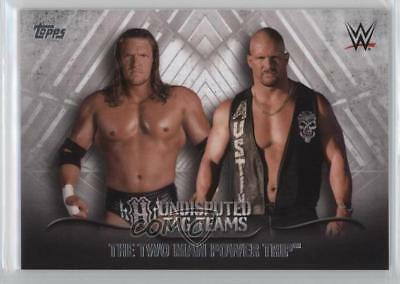 2016 Topps WWE Undisputed Tag Teams #UTT-35 The Two Man Power Trip Card g3c