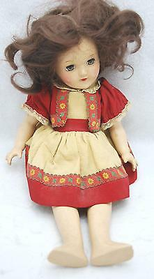 """14"""" Vintage 1950's Ideal P 90 Toni Doll Collectible"""