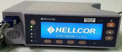 Nellcor N-595 Pulse Oximeter - PATIENT READY W/ 90 DAY WARRANTY