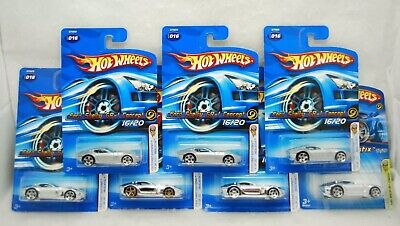 Hot Wheels 2005 Lot of 7 First Editions, Ford Shelby GR-1 Concept, MOC #016