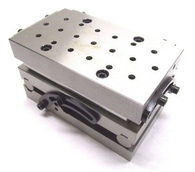 """NEW! PRECISION 7"""" x 4"""" COMPOUND SINE FIXTURE PLATE w/ THREADED HOLES"""