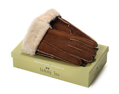 TOMMY TOU Ladies Sheepskin Gloves MASSIVE PRICE REDUCTION