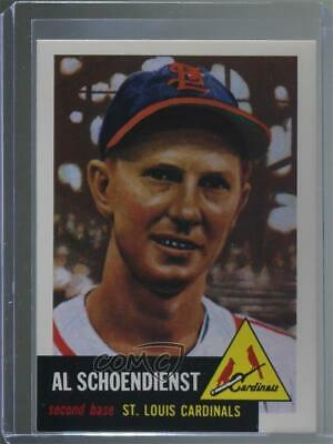 1991 Topps Archives The Ultimate 1953 Set #78 Red Schoendienst Baseball Card