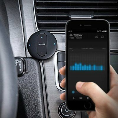 Anker SoundSync Drive Bluetooth 4.0 Car Receiver Wireless Phone Call & Music