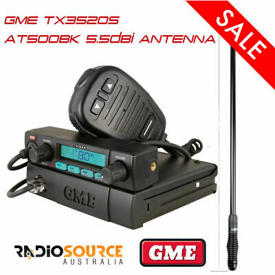 Crystal Db477D Uhf Cb Two 2 Way Radio Mobile Remote Display Speaker Microphone