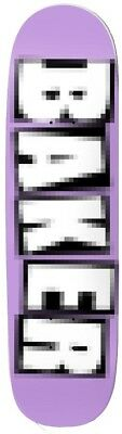 Baker Skateboard Deck 9.0 Team Pixelated Shaped 9.0