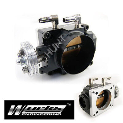 70mm Racing Throttle Body For Mitsubishi Lancer EVO 4 5 6 7 8 CT9A 4G63 Turbo
