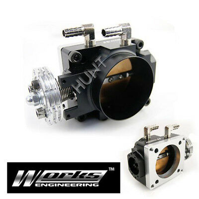 70mm Racing Throttle Body For Mitsubishi Lancer EVO 1 2 3 CD9A CE9A 4G63 Turbo
