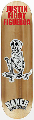 Baker Skateboard Deck 8.5 Figgy From The Grave