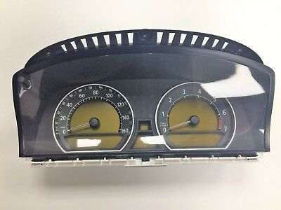 BMW 7 Series E65 E66 Instrument Cluster / Clocks / Speedo MPH 6211 6933461