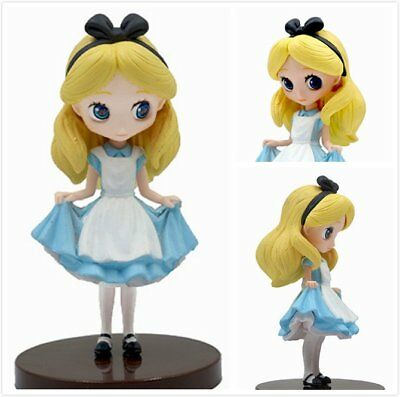 Q posket Disney Alice in Wonderland 9cm Anime Figure qp0107 Alice (no box)
