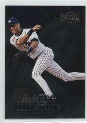 1998 Metal Universe #199 Derek Jeter New York Yankees Baseball Card