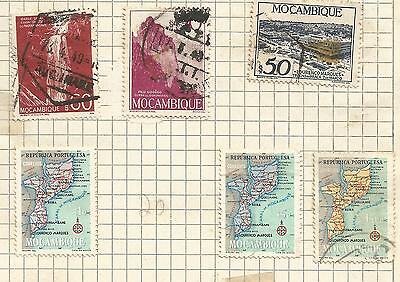 MOZAMBIQUE-  lot of 6 stamps