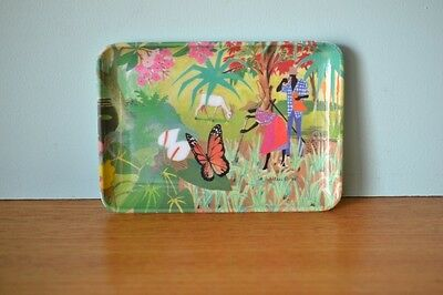 Vintage condiment tray Jim Walker 88   Italy tropical kitsch funky retro CGT1
