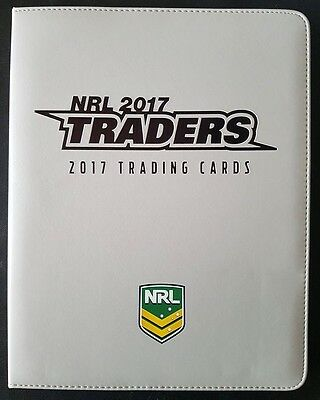 2017 ESP NRL Traders Album / Folder with Complete Full 160-Card Common Base Set