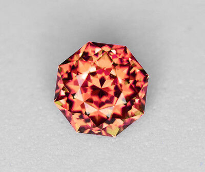 Mali Garnet - Imperial Orange - 2.70 Carat - Rare! - Precision Cut