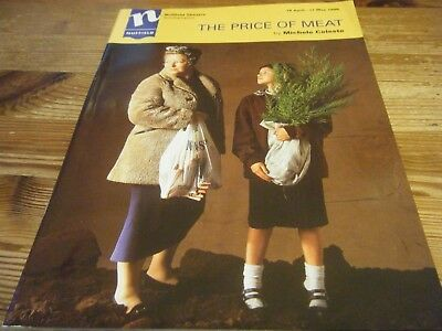 1996  Theatre Programme -   The  Price Of Meat -  Nuffield Theatre - Southampton