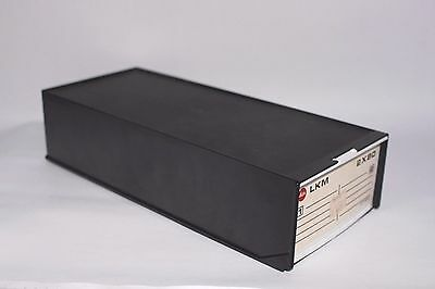 LEICA slide storage drawer Holds 160 slides Original price sticker Vintage  b45