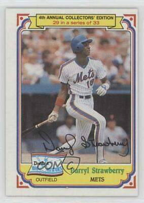 Darryl Strawberry Howard Johnson Living Legend Card New