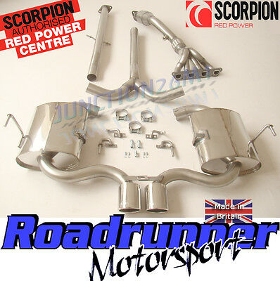Scorpion Full Exhaust System Mini Cooper S R53 MK1 Inc Manifold Cat 02-06 Hatch