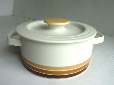 "1970's Vintage ""Thomas"" Flammfest Lidded Casserole Dish  Made in Germany - V.G.C"