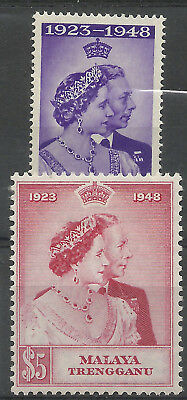Malaya - Trengannu - GVI Silver Wedding - SG61/2 - LMM - Cat £26