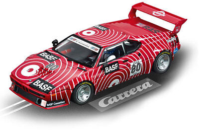 "Carrera 23821 - Digital 124 BMW M1 Procar ""BASF No.80"", 1980 Auto NEU"