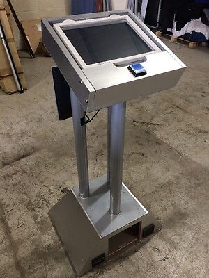 Lectern / Podium Event Prop With Touchscreen