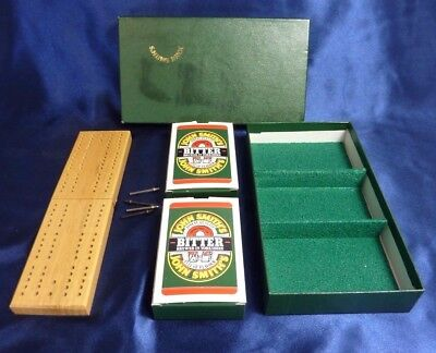 John Smiths Cribbage Bridge Set Complete, Excellent Condition, Free Post