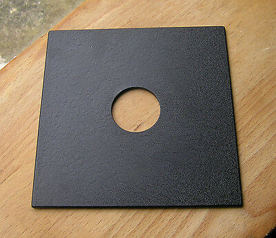 pattern  Sinar F & P fit  lens board panel with copal 0 34.8mm hole