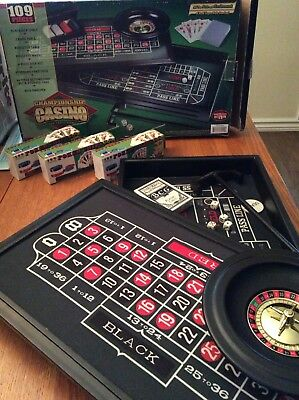 Deluxe Casino Table Game Set
