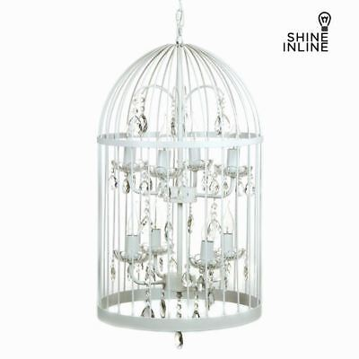 Lustre cage blanc by Shine Inline S0102304