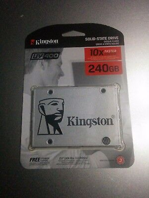 Brand New Kingston UV400 ssd 240gb solid state drive 2.5""